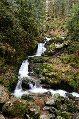 Cascade Charlemagne (Vosges) By Florian Grossir CC BY-SA 3.0 via Wikimedia Commons