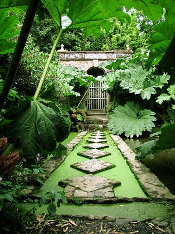 Jardin de Kerdalo By Basilus via Wikimedia Commons