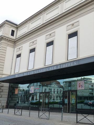 Musée de l'Impression sur Etoffes By Ji-Elle (Own work) CC BY-SA 3.0 via Wikimedia Commons