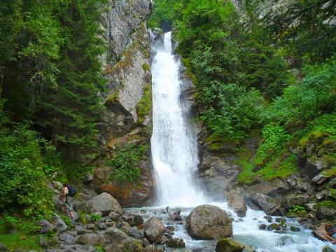 Chamonix, Cascade du Dard