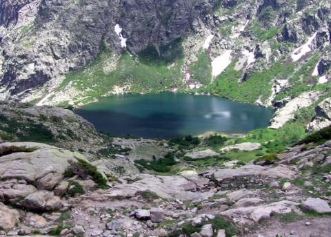 Le lac de Melo