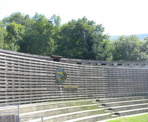 Parc animalier de Courzieu Par JeanBono (Travail personnel) CC BY-SA 3.0 via Wikimedia Commons
