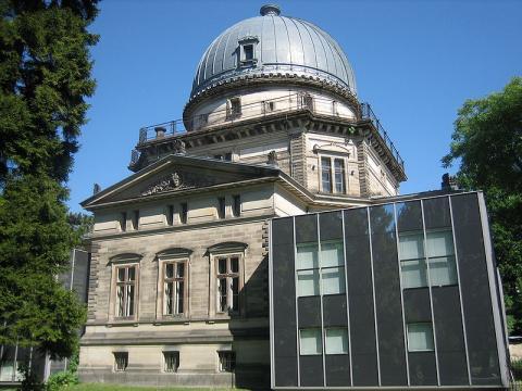 Le Planétarium de Strasbourg By Richieman via Wikimedia Commons