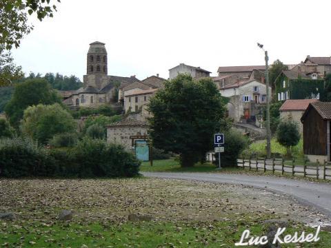 Le village de Lavaudieu