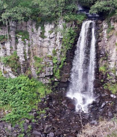 Cascade du ruisseau des Mortes du Guéry