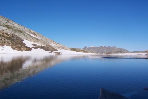 Lac du Vallon en Isère