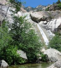 la cascade de Bavella