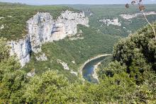 Les Gorges de l'Ardèche Par Superbass CC BY-SA 4.0 via Wikimedia Commons