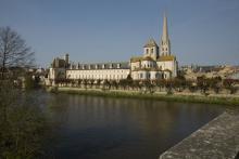 Abbaye de Saint-Savin-sur-Gartempe By PMRMaeyaert (Own work) [CC BY-SA 3.0 (http://creativecommons.org/licenses/by-sa/3.0)], via Wikimedia Commons