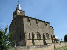 Eglise fortifiée de Saint-Pierrevillers Par TCY CC BY-SA 3.0 via Wikimedia Commons