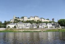 Forteresse royale de Chinon By M.herrick CC BY-SA 3.0 via Wikimedia Commons
