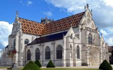 Monastère royal de Brou by Benoît Prieurvia Wikimedia Commons