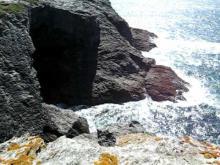 Grottes Marines de l' Apothicairerie à Belle-IIe-en-Mer