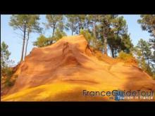 Les Ocres de roussillon en vidéo