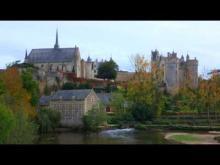 Château de Montreuil Bellay en vidéo
