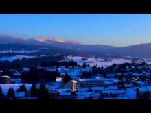 La station les Rousses en vidéo