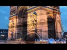 Arc de triomphe en vidéo
