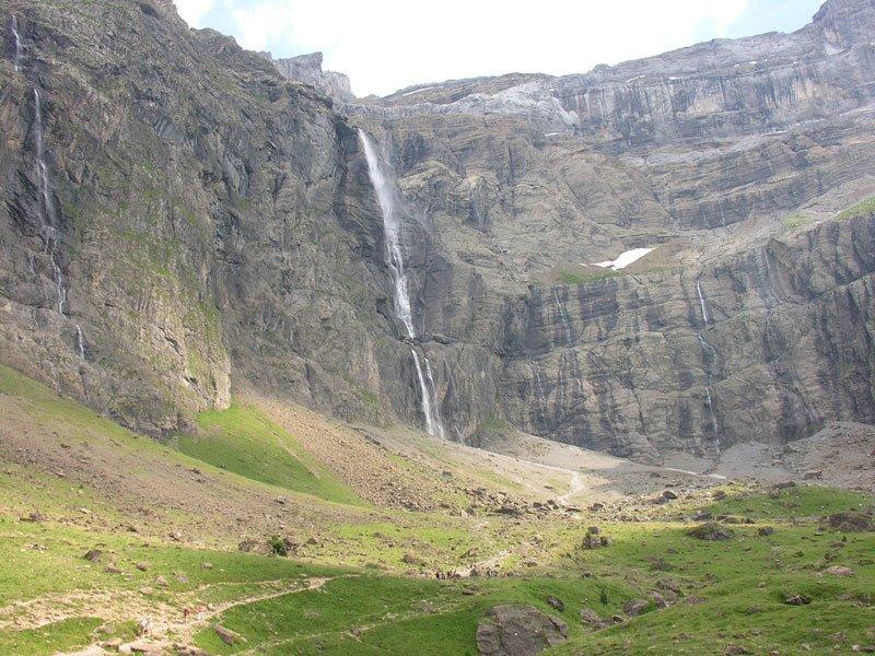 14 La cascade de Gavarnie