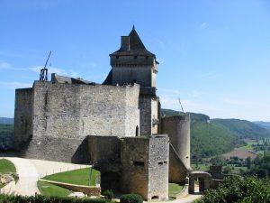 Le château de Castelnaud, en Dordogne